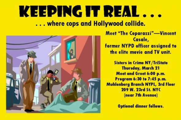 "Vincent Casale ""The Coparazzi"" is former NYPD and will speak to NYSinC about being on the elite movie and TV unit."